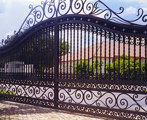 sample pictures of metal gates
